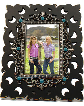 "M&F Western 4"" x 6"" Filigree Frame, No Color, hi-res"