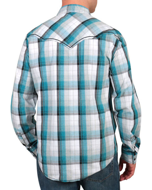 Moonshine Spirit® Men's Banderas Western Shirt, Blue, hi-res