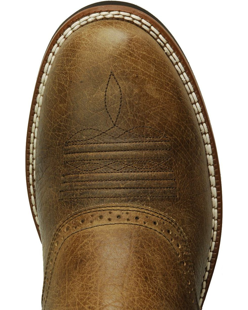 Ariat Men's Heritage Crepe Western Boots, Earth, hi-res
