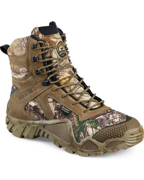 "Red Wing Irish Setter Realtree Xtra Vaprtrek Insulated Waterproof 8"" Boots , Camouflage, hi-res"