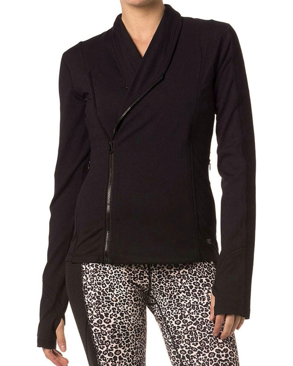 Miss Me Women's Side Zip Athletic Sweater, , hi-res