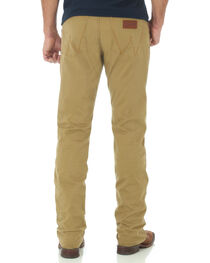 Wrangler Retro Slim Fit Straight Leg Khaki Jeans, , hi-res
