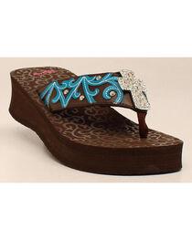 Blazin Roxx Women's Miranda Flip Flops, , hi-res