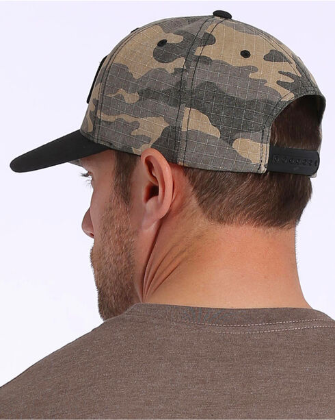 Cinch Men's Camo Print Patch Logo Cap, , hi-res