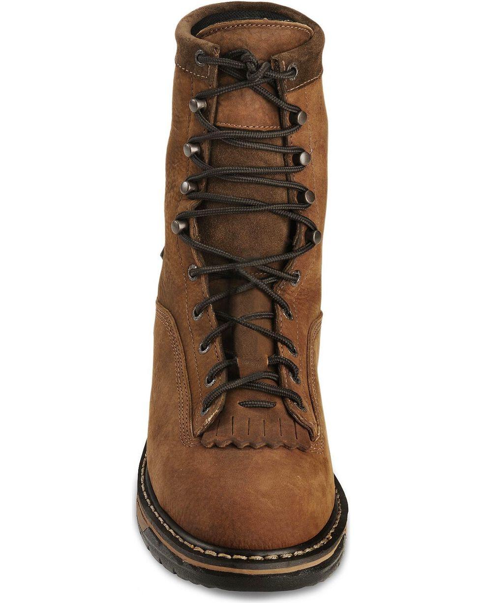 Rocky Men's Steel Toe Ironclad Work Boots, Copper, hi-res