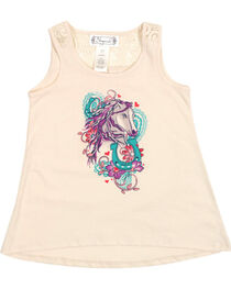 Shyanne® Toddler Horse Graphic Tank Top, , hi-res