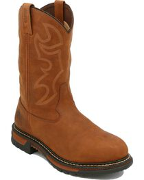 Rocky Men's Branson Roper Waterproof Western Boots, , hi-res