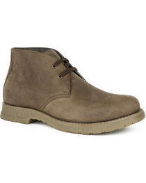 Roper Men's Lace Up Chukka Western Shoes , , hi-res