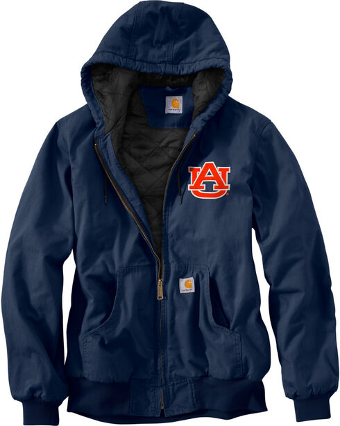 Carhartt Auburn University Sandstone Active Jacket, Navy, hi-res