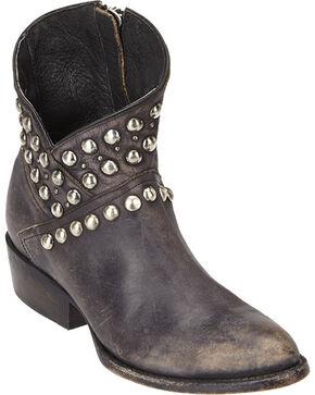 Matisse Cowboy Studded Ankle Boots, Black, hi-res