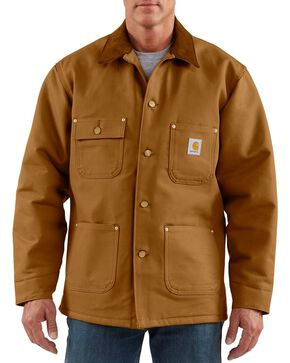 Carhartt Men's Duck Chore Coat, Brown, hi-res