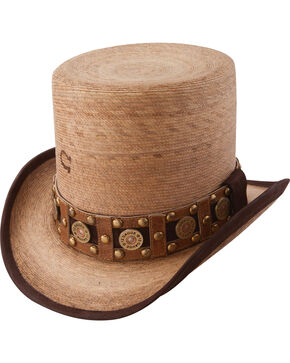 Charlie 1 Horse Burned Natural Quick Draw Hat, Natural, hi-res