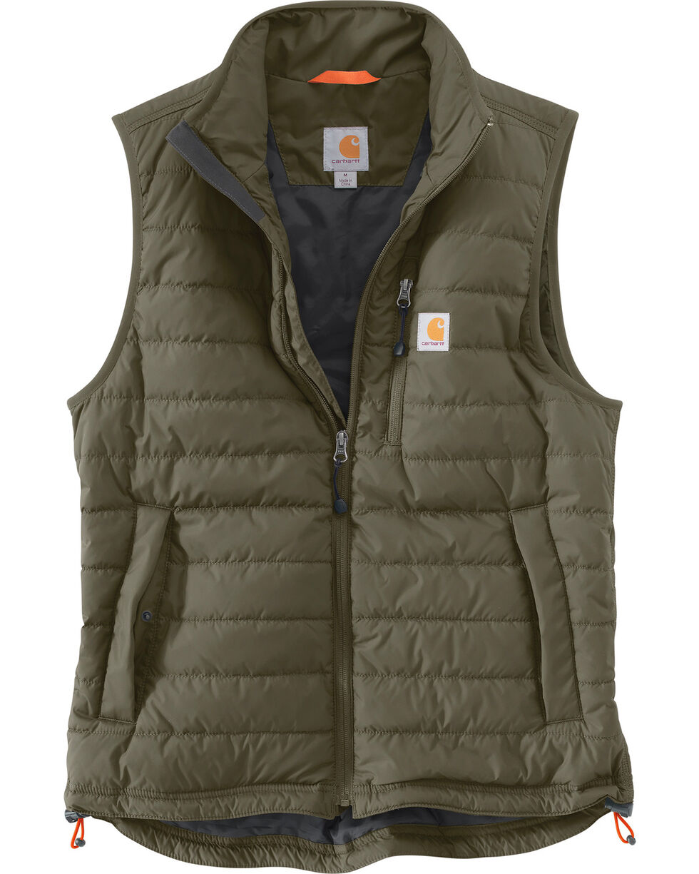 Carhartt Men's Gilliam Vest, Moss Green, hi-res