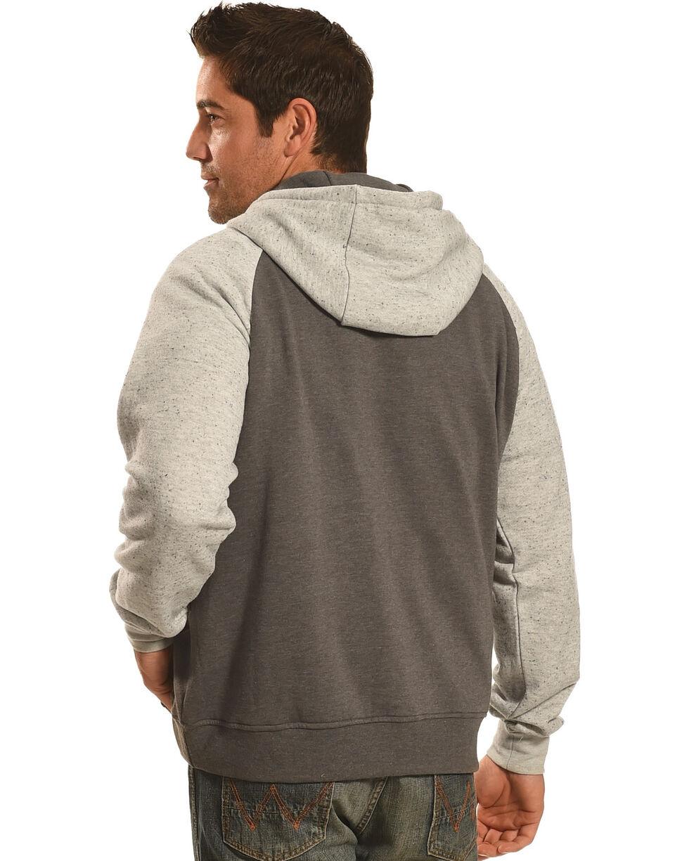 Hooey Men's Grey Pullover Logo Hoodie , , hi-res