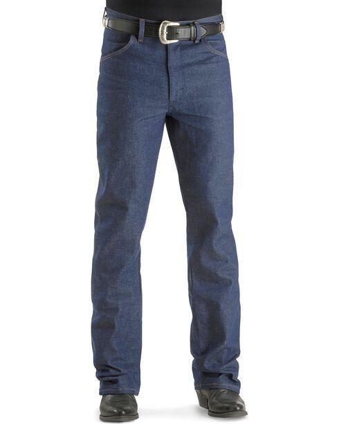 Wrangler Men's Traditional Boot Cut Jeans, Indigo, hi-res