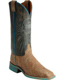 Justin Women's Bent Rail Cross Western Boots, , hi-res