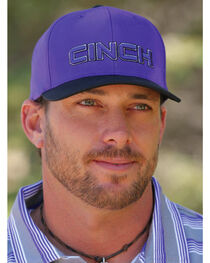 Cinch Men's Purple FLEXFIT® Cap, , hi-res