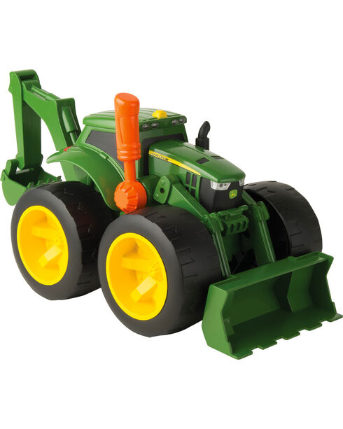 John Deere Monster Treads 2X Scoop Tractor, No Color, hi-res