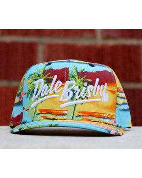 Dale Brisby Men's Hawaiian Sunset Snapback Cap , Multi, hi-res