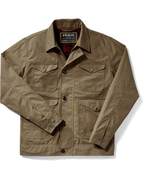 Filson Men's Dark Tan Northway Jacket - Tall, Tan, hi-res