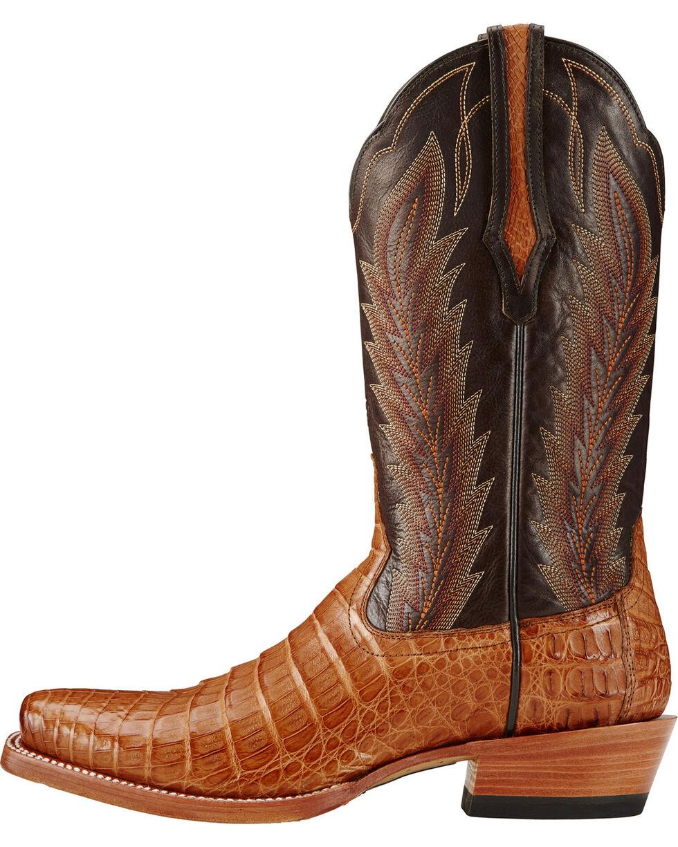 Ariat Men's Turnback Caiman Belly Exotic Boots, , hi-res