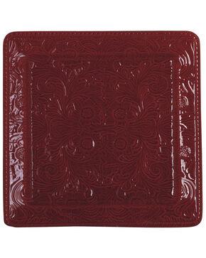 HiEnd Accents Savannah Serving Platter, Red, hi-res
