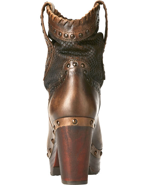 Ariat Women's Memphis Fashion Booties, Tan, hi-res