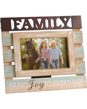 BB Ranch Rustic Family Photo Frame, No Color, hi-res