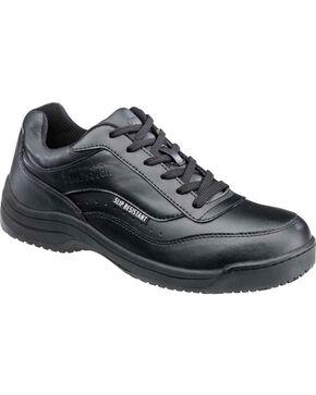 SkidBuster Women's Slip Resistant Shoes, Black, hi-res