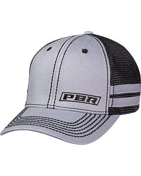 PBR Men's Logo Mesh Baseball Cap, Grey, hi-res