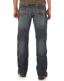 Wrangler Men's Indigo Rhythm Slim Boot Jeans - Big and Tall, , hi-res