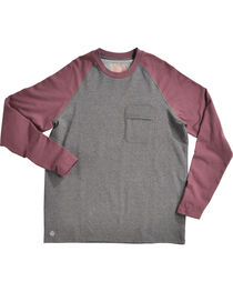 American Worker Men's 10th Inning Baseball Raglan Crew Tee, , hi-res
