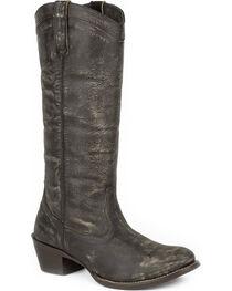 Roper Women's Brown Reba Western Boots - Round Toe , , hi-res