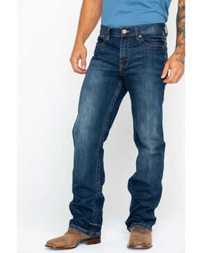 Cody James® Men's Copperhead Slim Boot Cut Jeans, Indigo, hi-res