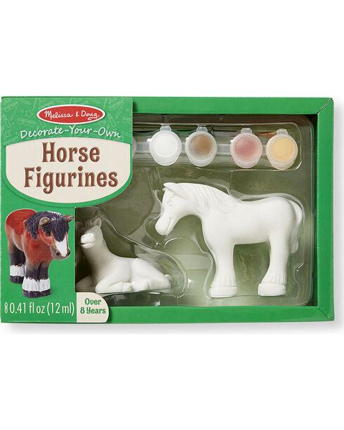 Melissa & Doug Decorate-Your-Own Horse Figurines , No Color, hi-res