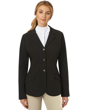 Ovation Women's Rio Show Coat, Black, hi-res