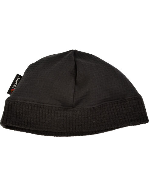 Ariat Men's Black FR Polartec Work Beanie, Black, hi-res
