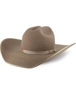 Rodeo King 5X Felt Hat, Medium Brown, hi-res