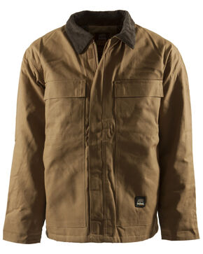 Berne Duck Original Chore Coat, Brown, hi-res