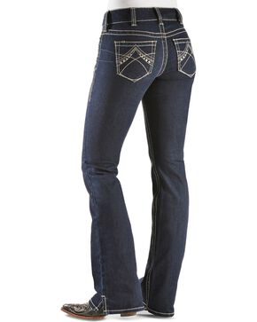 Ariat Women's Real Denim Eclipse Boot Cut Riding Jeans, Dark Denim, hi-res
