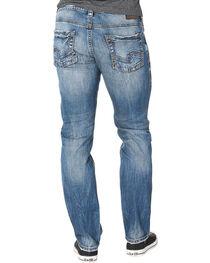Silver Men's Indigo Allan Classic Fit Jeans - Straight Leg , , hi-res