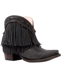 Junk Gypsy by Lane Women's Black Spitfire Boots - Snip Toe , , hi-res