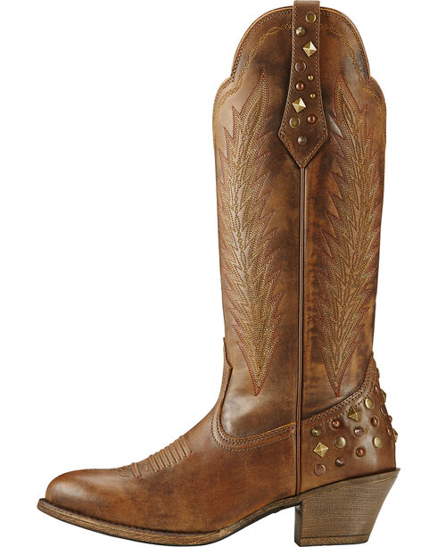 Ariat Women's Dusty Diamond Western Boots, Brown, hi-res