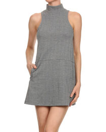 Freeway Apparel Women's Sleeveless Herringbone Dress, , hi-res