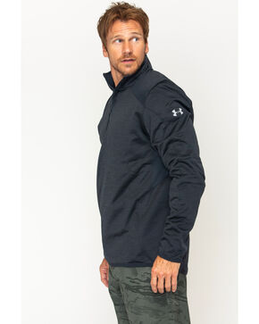 Under Armour Men's Reactor 1/4 Zip Pullover , Dark Grey, hi-res