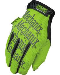 Mechanix Wear Hi-Viz Original Safety Gloves , , hi-res