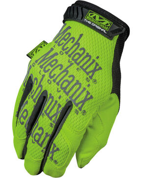 Mechanix Wear Hi-Viz Original Safety Gloves , Bright Yellow, hi-res