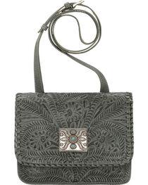 American West Women's Grand Prairie Crossbody Flap Bag, , hi-res