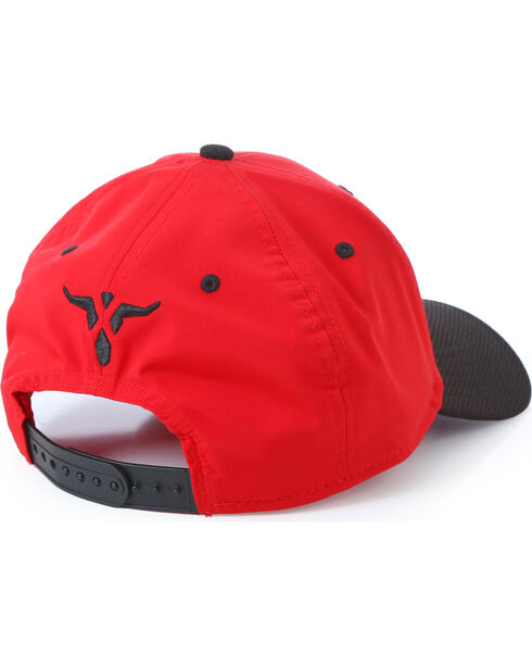 Wrangler Men's 20X Adjustable Cap, Red, hi-res
