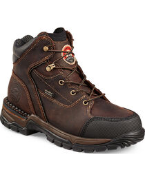 Red Wing Irish Setter Women's Two Harbors Hiker Work Boots - Aluminum Toe , , hi-res